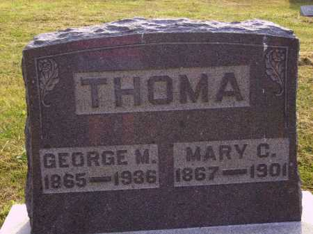 THOMA, MARY C. - Meigs County, Ohio | MARY C. THOMA - Ohio Gravestone Photos