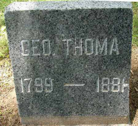 THOMA, GEORGE - Meigs County, Ohio | GEORGE THOMA - Ohio Gravestone Photos