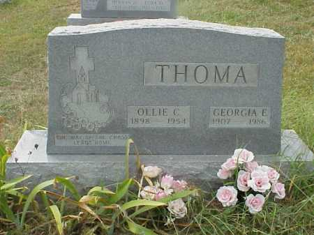 THOMA, OLLIE C. - Meigs County, Ohio | OLLIE C. THOMA - Ohio Gravestone Photos