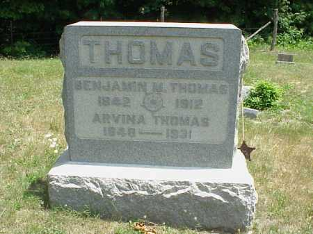 THOMAS, BENJAMIN M. - Meigs County, Ohio | BENJAMIN M. THOMAS - Ohio Gravestone Photos