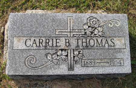 THOMAS, CARRIE B - Meigs County, Ohio | CARRIE B THOMAS - Ohio Gravestone Photos