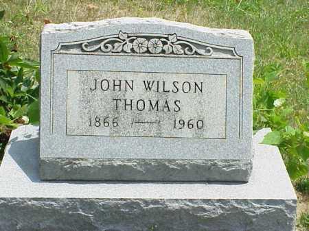 THOMAS, JOHN WILSON - Meigs County, Ohio | JOHN WILSON THOMAS - Ohio Gravestone Photos