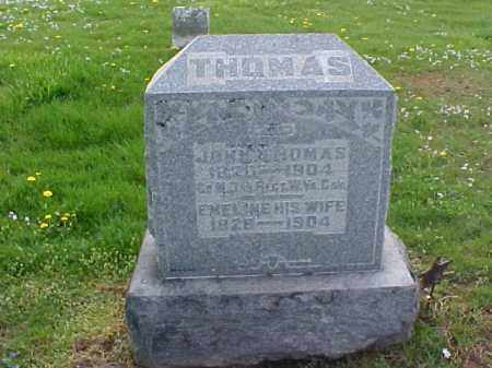 THOMAS, EMELINE - Meigs County, Ohio | EMELINE THOMAS - Ohio Gravestone Photos