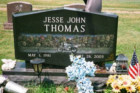 THOMAS, JESSE JOHN - Meigs County, Ohio | JESSE JOHN THOMAS - Ohio Gravestone Photos