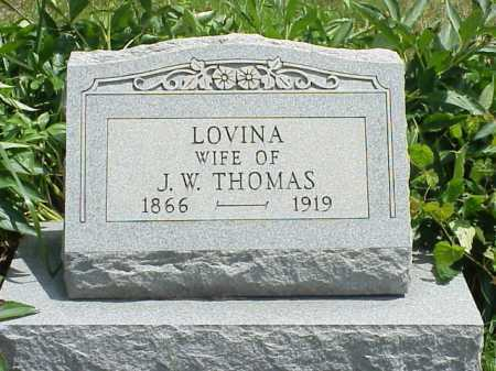 THOMAS, LOVINA - Meigs County, Ohio | LOVINA THOMAS - Ohio Gravestone Photos