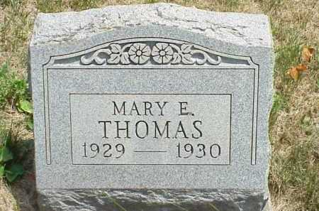 THOMAS, MARY E. - Meigs County, Ohio | MARY E. THOMAS - Ohio Gravestone Photos