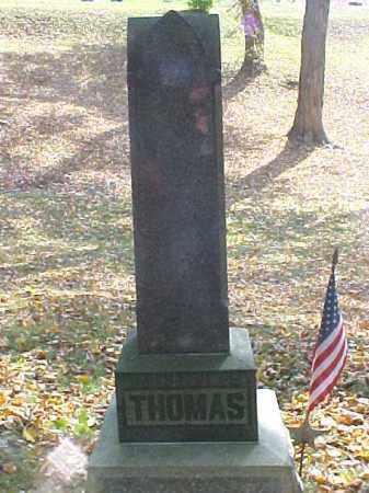 THOMAS, MONUMENT - Meigs County, Ohio   MONUMENT THOMAS - Ohio Gravestone Photos