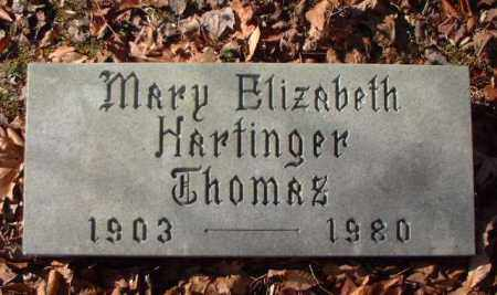 HARTINGER THOMAS, MARY ELIZABETH - Meigs County, Ohio | MARY ELIZABETH HARTINGER THOMAS - Ohio Gravestone Photos