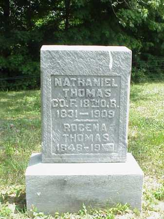 THOMAS, NATHANIEL - Meigs County, Ohio | NATHANIEL THOMAS - Ohio Gravestone Photos