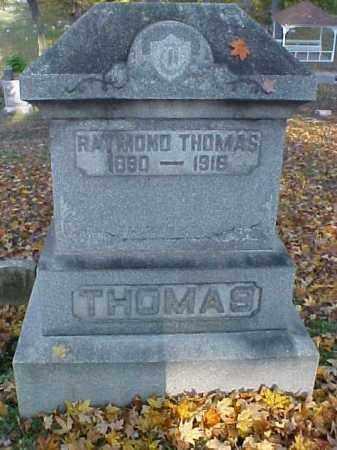 THOMAS, RAYMOND - Meigs County, Ohio | RAYMOND THOMAS - Ohio Gravestone Photos