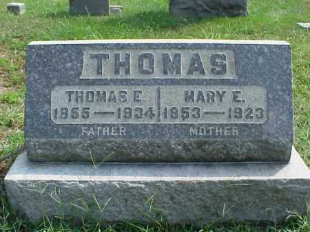 THOMAS, THOMAS E. - Meigs County, Ohio | THOMAS E. THOMAS - Ohio Gravestone Photos