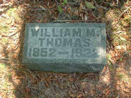 THOMAS, WILLIAM M. - Meigs County, Ohio | WILLIAM M. THOMAS - Ohio Gravestone Photos