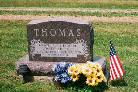 THOMAS, WHEELER JOE - Meigs County, Ohio | WHEELER JOE THOMAS - Ohio Gravestone Photos
