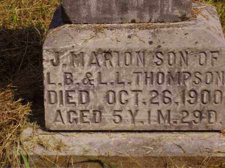 THOMPSON, JOSEPH MARION - Meigs County, Ohio | JOSEPH MARION THOMPSON - Ohio Gravestone Photos