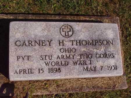 THOMPSON, CARNEY HAROLD - Meigs County, Ohio | CARNEY HAROLD THOMPSON - Ohio Gravestone Photos