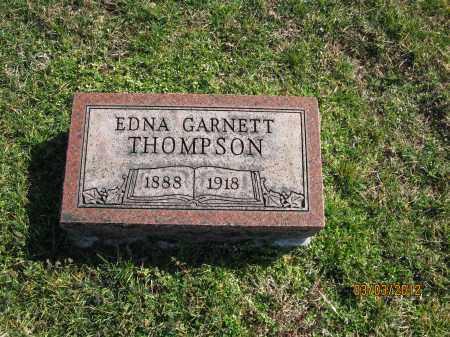 THOMPSON, EDNA GARNETT - Meigs County, Ohio | EDNA GARNETT THOMPSON - Ohio Gravestone Photos