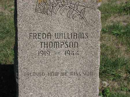 WILLIAMS THOMPSON, FREDA - Meigs County, Ohio | FREDA WILLIAMS THOMPSON - Ohio Gravestone Photos