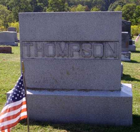 THOMPSON FAMILY, MONUMENT - Meigs County, Ohio | MONUMENT THOMPSON FAMILY - Ohio Gravestone Photos