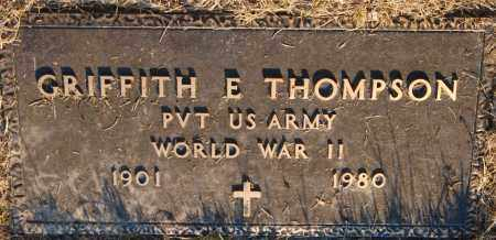 THOMPSON, GRIFFITH E. - Meigs County, Ohio | GRIFFITH E. THOMPSON - Ohio Gravestone Photos