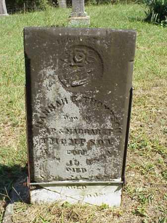 THOMPSON, HANNAH E. - Meigs County, Ohio | HANNAH E. THOMPSON - Ohio Gravestone Photos