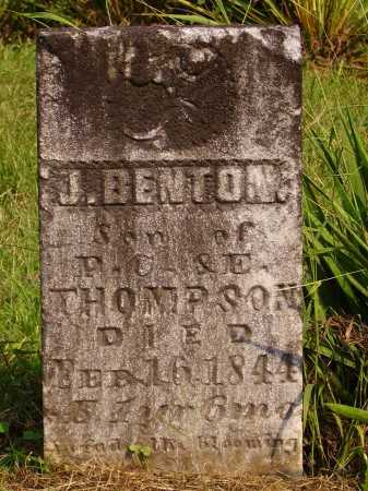 THOMPSON, J. BENTON - Meigs County, Ohio | J. BENTON THOMPSON - Ohio Gravestone Photos