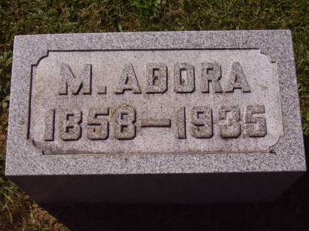 THOMPSON, MARY ADORA - Meigs County, Ohio | MARY ADORA THOMPSON - Ohio Gravestone Photos
