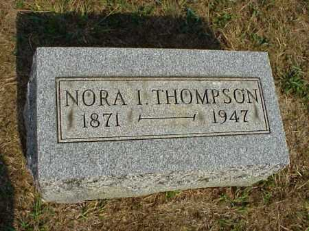 THOMPSON, NORA I. - Meigs County, Ohio | NORA I. THOMPSON - Ohio Gravestone Photos