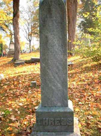 THRESS, WILLIAM - Meigs County, Ohio | WILLIAM THRESS - Ohio Gravestone Photos