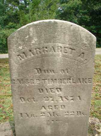 TIMBERLAKE, MARGARET A. - Meigs County, Ohio | MARGARET A. TIMBERLAKE - Ohio Gravestone Photos