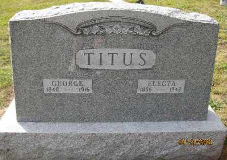 ITIUS, ELECTA - Meigs County, Ohio | ELECTA ITIUS - Ohio Gravestone Photos