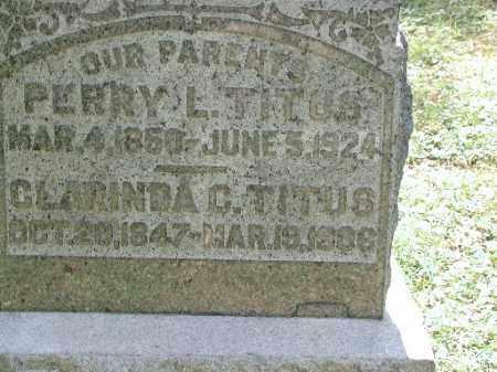 TITUS, PERRY L. - Meigs County, Ohio | PERRY L. TITUS - Ohio Gravestone Photos
