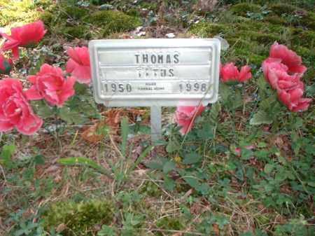 TITUS, THOMAS - Meigs County, Ohio | THOMAS TITUS - Ohio Gravestone Photos