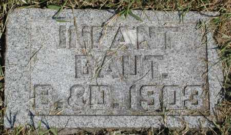 TOBAN, INFANT DAUGHTER - Meigs County, Ohio | INFANT DAUGHTER TOBAN - Ohio Gravestone Photos