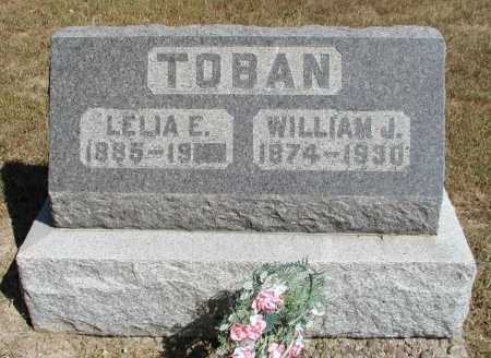 TOBAN, WILLIAM J. - Meigs County, Ohio | WILLIAM J. TOBAN - Ohio Gravestone Photos