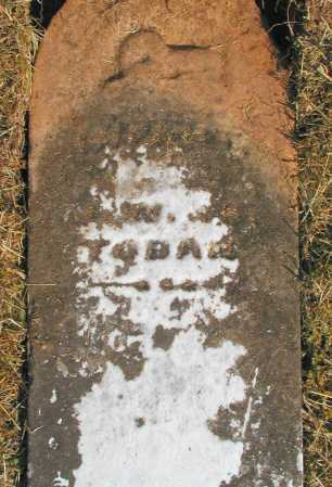 TOBAN, UNKNOWN - Meigs County, Ohio | UNKNOWN TOBAN - Ohio Gravestone Photos