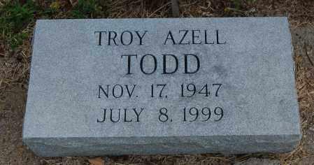 TODD, TROY AZELL - Meigs County, Ohio | TROY AZELL TODD - Ohio Gravestone Photos