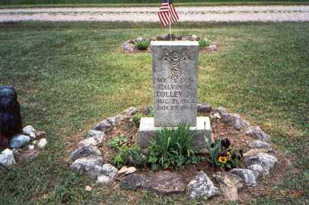 TOLLEY, JR, CALVIN C. - Meigs County, Ohio | CALVIN C. TOLLEY, JR - Ohio Gravestone Photos