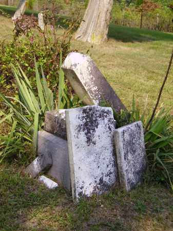 TOMBSTONES, PILED - Meigs County, Ohio | PILED TOMBSTONES - Ohio Gravestone Photos
