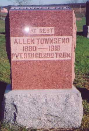 TOWNSEND, ALLEN - Meigs County, Ohio | ALLEN TOWNSEND - Ohio Gravestone Photos