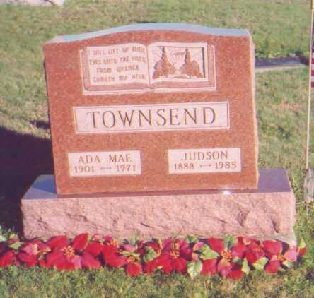 TOWNSEND, JUDSON - Meigs County, Ohio | JUDSON TOWNSEND - Ohio Gravestone Photos