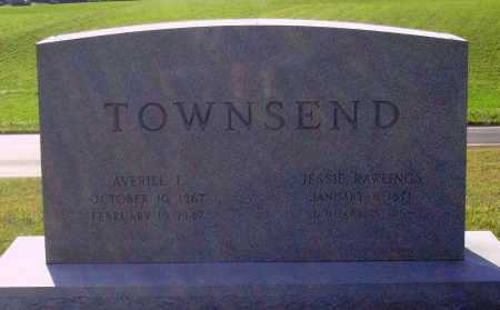 RAWLINGS TOWNSEND, JESSIE - Meigs County, Ohio | JESSIE RAWLINGS TOWNSEND - Ohio Gravestone Photos