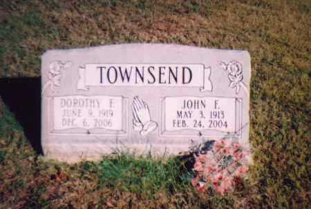 TOWNSEND, JOHN FRANKLIN - Meigs County, Ohio | JOHN FRANKLIN TOWNSEND - Ohio Gravestone Photos