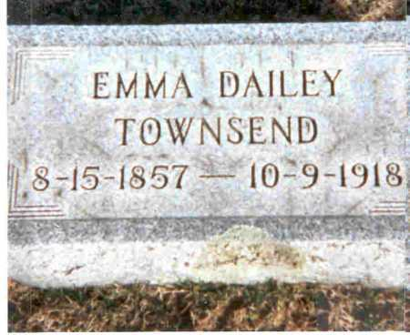 DAILEY TOWNSEND, EMMA - Meigs County, Ohio | EMMA DAILEY TOWNSEND - Ohio Gravestone Photos