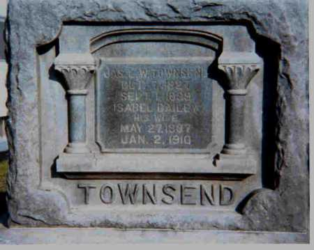 TOWNSEND, JAS. L. W. - Meigs County, Ohio | JAS. L. W. TOWNSEND - Ohio Gravestone Photos