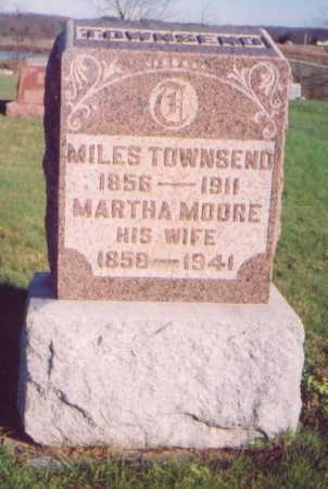 MOORE TOWNSEND, MARTHA - Meigs County, Ohio | MARTHA MOORE TOWNSEND - Ohio Gravestone Photos