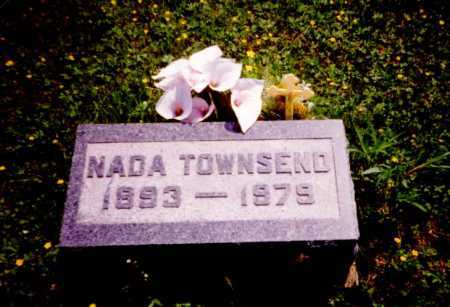 TOWNSEND, NADA - Meigs County, Ohio | NADA TOWNSEND - Ohio Gravestone Photos