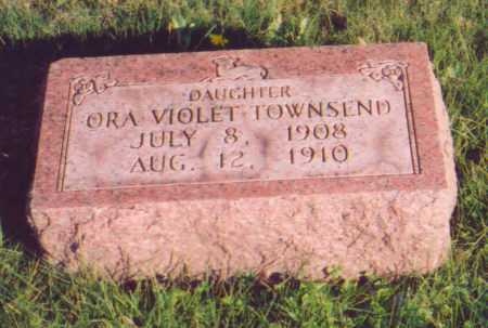 TOWNSEND, ORA VIOLET - Meigs County, Ohio | ORA VIOLET TOWNSEND - Ohio Gravestone Photos