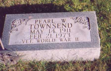 TOWNSEND, PEARL W. - Meigs County, Ohio | PEARL W. TOWNSEND - Ohio Gravestone Photos