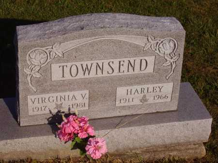 TOWNSEND, VIRGINIA V. - Meigs County, Ohio | VIRGINIA V. TOWNSEND - Ohio Gravestone Photos
