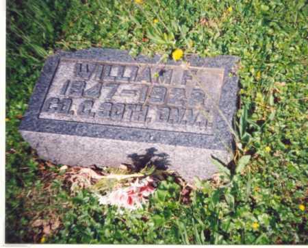 TOWNSEND, WILLIAM F. - Meigs County, Ohio | WILLIAM F. TOWNSEND - Ohio Gravestone Photos